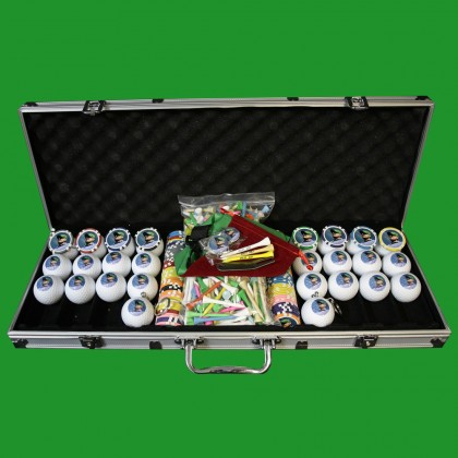 Deluxe Golf Gift Set With Titleist ProV1 Balls