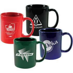 Custom Logo Coffee Mugs - Personalized