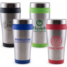 Custom Logo Coffee Tumblers - Personalized
