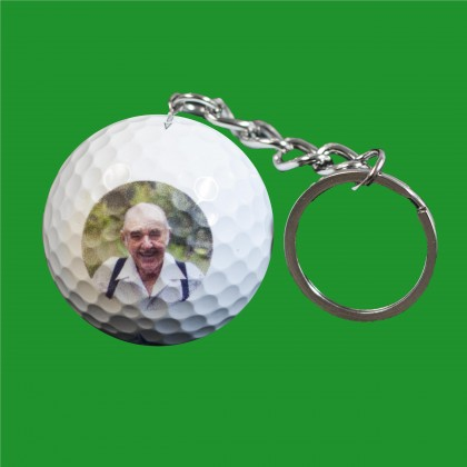 Personalized Golf Ball Keychains