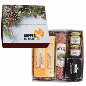 Deluxe Charcuterie Gourmet Meat & Cheese Chairman Gift Box